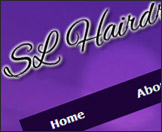 SL Hairdressing Website Example